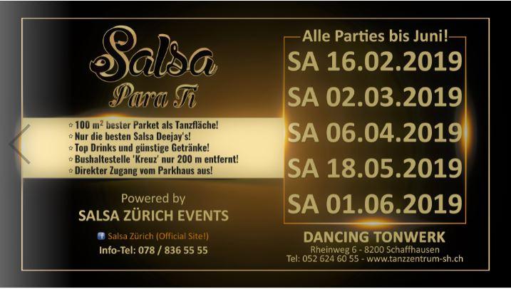 SALSA PARA TI Dancing Tonwerk